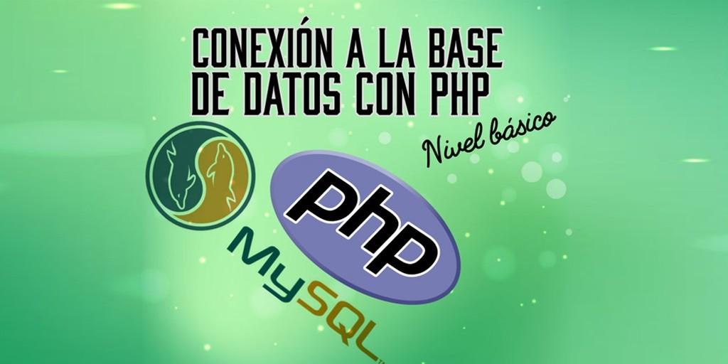 conexion a la base de datos php y sql
