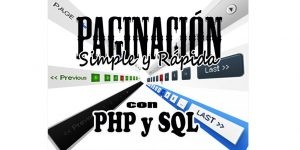 Paginación con PHP