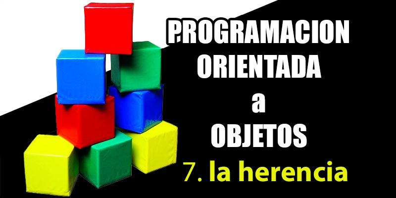 la herencia en la programación orientada a objetos