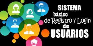 Sistema de registro y login de usuarios