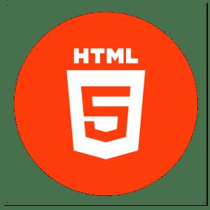 HTML logo diseño web
