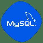 MySQL logo diseño web