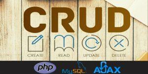 Gestiona tu base de datos usando CRUD con PHP SQL AJAX