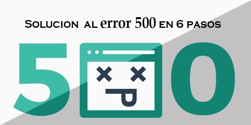 error 500 servidor